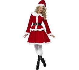"Karnavalinis kostiumas ""Mis Santa"" (165-175 cm.)"