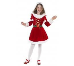 """Karnavalinis kostiumas """"Miss Santa"""" (120 - 130 cm.)"""