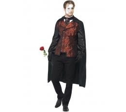 """Karnavalinis kostiumas """"Operos fantomas"""" (Dydis: M)"""