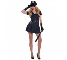 """Karnavalinis kostiumas """"Policininkė"""" (165-175 cm.)"""