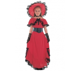 """Karnavalinis kostiumas """"Skarlet O'Hara"""" (122 - 134 cm.)"""