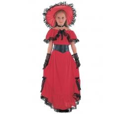 """Karnavalinis kostiumas """"Skarlet O'Hara"""" (134 - 146 cm.)"""