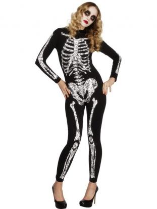 """Karnavalinis kostiumas """"Skeletas"""" (Dydis: M)"""