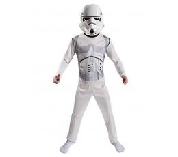 """Karnavalinis kostiumas """"Žvaigždžių karai. Stormtrooper"""" (128 - 134 cm.)"""
