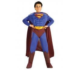 """Karnavalinis kostiumas """"Supermenas"""" (128 - 135 cm.)"""
