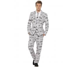 """Karnavalinis kostiumas """"Ūsai"""" (Dydis: XL)"""