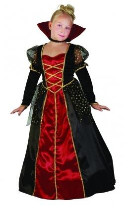 """Karnavalinis kostiumas """"Vampyrė"""" (110-120 cm.)"""