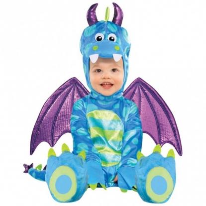 """Karnavalinis kostiumas""""Mažasis drakonas"""" (74-81 cm.)"""