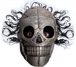 """Kaukė """"Skeletas su plaukais"""" (1 vnt.)"""