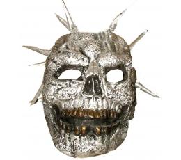 """Kaukė """"Zombis"""" / sidabrinė (1 vnt.)"""