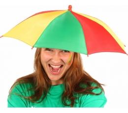"""Kepurė-skėtukas """"Geltona-žalia-raudona"""""""