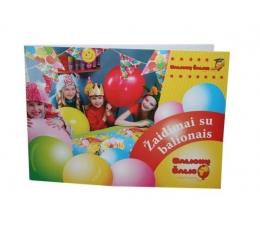 """Knygutė """"Žaidimai su balionais"""""""