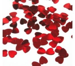 Konfeti-folinės širdelės (20 g.)
