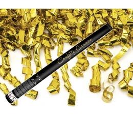 """Konfeti patranka """"Auksinės juostelės"""" (60 cm./1 vnt.)"""