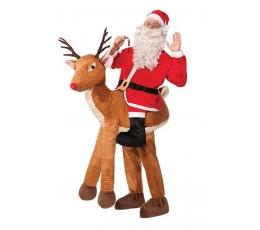 """Kostiumas """"Rudolfas ir Kalėdų senelis"""" (Suaugusiems/Universalus)"""