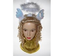 Lank.angelo aureolė su sparneliaisAKCIJA