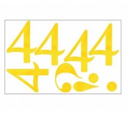 "Lipdukai / skaičiukas ""4"" (1 vnt)"
