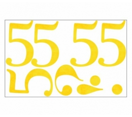 "Lipdukai / skaičiukas ""5"" (1 vnt)"