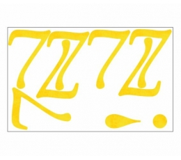 "Lipdukai / skaičiukas ""7"" (1 vnt)"