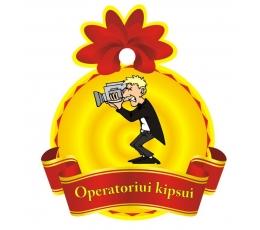 """Medalis """"Operatoriui Kipsui"""" (9cm.)"""