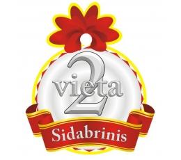"""Medalis""""Sidabrinis - 2 Vieta"""" (9cm.)"""