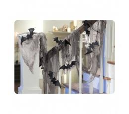 Medžiaginė dekoracija su šikšnosparniais (450 cm.)