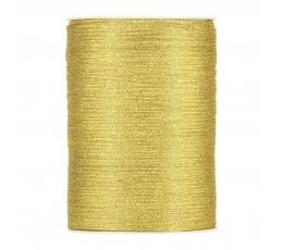 Medžiaginė juostelė / auksinė (3 mm. x 500 m.)