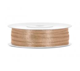 Medžiaginė juostelė / auksinė (3mm./50 m.)