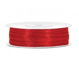 Medžiaginė juostelė / raudona (3mm./50m.)