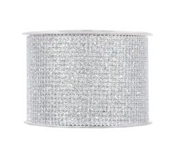 Medžiaginė juostelė / sidabrinė (60 mm. x 10 m.)