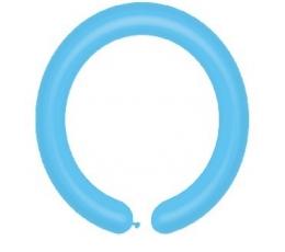 Modeliavimo balionai, melsvi pasteliniai (100vnt./D4)