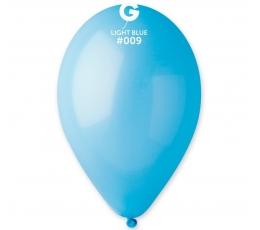 Melsvi pasteliniai balionai (10vnt./28 cm.)