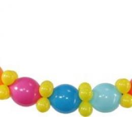 Dekoravimo balionai, mėlyni pasteliniai (100vnt./32cm.) 1