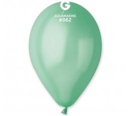 Mėtiniai perlamutriniai balionai (100vnt./28 cm.)