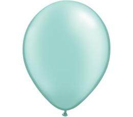 Mėtiniai perlamutriniai balionai (25 vnt./28cm.Q11)