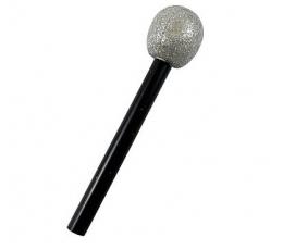 Mikrofono imitacija / sidabrinis (1 vnt.)