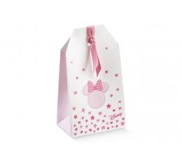 "Mini dovanų dėžutė ""Minė""/rožinė (1 vnt./55x35x100 mm.)"