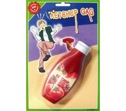 Netikro kečupo buteliukas (AKCIJA)