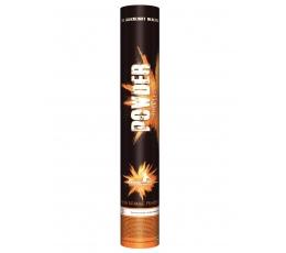 Oranžinės spalvos Holi dulkės / konfeti (1vnt./120 g)