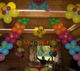 Oranžiniai dekoravimo balionai (15 vnt./32 cm.) 2