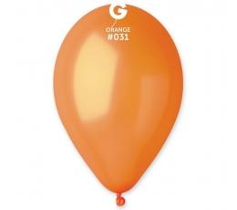 Oranžiniai perlamutriniai balionai (50vnt./28cm.)