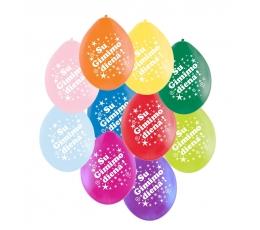 """Past. balionai """"Su gimimo diena""""/atv. (100 vnt./28cm.)"""