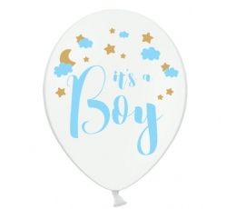"Balionai ""It's a boy"" / balti (30 cm./50vnt.)"
