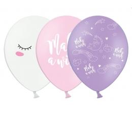 "Pasteliniai balionai ""Make a wish"" (30 cm./50vnt.)"