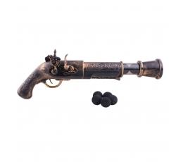 Pirato šautuvas su šoviniais