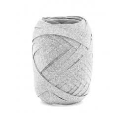 Plastikinė juostelė / sidabrinė (10 m.)