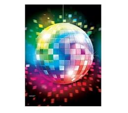 """Plastikinė staltiesė """"Disco (1.37 m. x 2.59 m.)"""