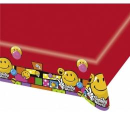 """Plastikinė staltiesė """"Šypseniukai"""" (1.20 m. x 1.80 m)"""