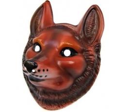 Plastikinė veido kaukė / lapė (1 vnt.)