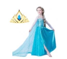 """Princesės tiara """"Mėlynas lašas"""" (1 vnt.)"""